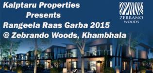 Kalpataru Properties Presents Welcome Navratri 2015 at Zebrano Woods Village Khambhala RAJKOT
