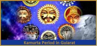 Kamurta Period in Gujarat India - Dates in December January