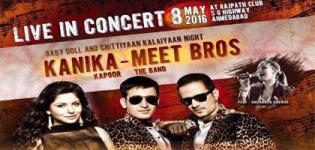 Kanika Kapoor and Meet Bros LIVE in Concert 2016 Ahmedabad at Rajpath Club
