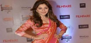 Kanika Kapoor in Pink Lehenga Choli at 61st Filmfare Awards Mumbai - Recent Images