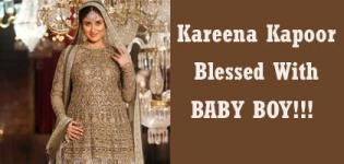 Kareena Kapoor And Saif Ali Khan Blessed with a Baby Boy ! !