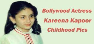 Kareena Kapoor Childhood Pics - Indian Bollywood Celebrity Rare Childhood Photos / Pictures