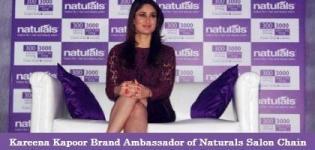 Kareena Kapoor at Naturals Salon Chain in New Delhi as New Brand Ambassador