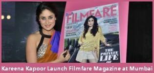 Kareena Kapoor launches September Issue of Filmfare Magazine at Mumbai