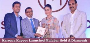 Kareena Kapoor launches Diwali Collection of Malabar Gold and Diamonds