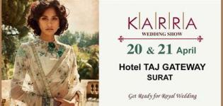 Karra Wedding Show 2018 in Surat at The Hotel Taj Gateway - Date and Details
