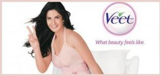Katrina Kaif Brand Ambassador of Veet Naturals Hair Removal Cream Ad in India