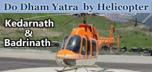 Kedarnath and Badrinath - Do Dham Yatra 2018 by Helicopter