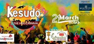 Kesudo The Holi Carnival 2019 at TGB in Jamnagar - Date and Details