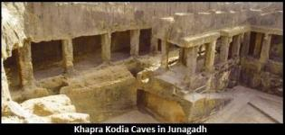 Khapra Kodia Caves in Junagadh Gujarat