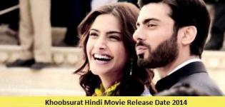 Khoobsurat Hindi Movie Release Date 2014 - Star Cast & Crew