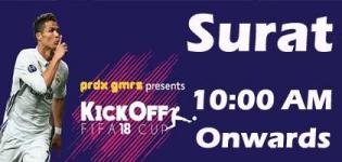 KickOff FIFA 18 Cup 2017 Event Venue Date and Details in Surat