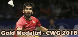 Kidambi Srikanth Wins Gold Medal in Commonwealth Games 2018 for Badminton