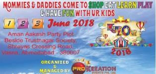 KiddoZone 2018 Carnival Arranged in Ahmedabad for Your Kids Date and Venue Details