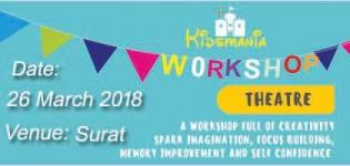 Kidsmania Art Fest - Theatre Workshop 2018 in Surat at Praso Play Lounge