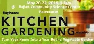 Kitchen Gardening Summer Workshop 2016 in Rajkot at Racecourse