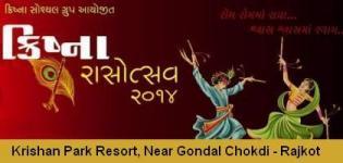 Krishna Rasotsav 2014 - Enjoy Navratri Dandiya Raas at Krishna Park Resort RAJKOT
