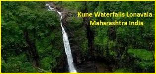 Kune Waterfall Lonavala - Location of Kune Falls Khandala Maharashtra India