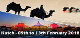 Kutch Rann Utsav 2018 Tour Feb 09 to 13 2018 in Kutch Date & Time Details