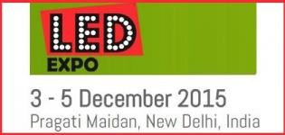 LED Expo New Delhi 2015 - Exhibition on LED Lighting Products and Technologies