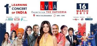 LYLA Learning Concert 2019 in Ahmedabad at YMCA International Club - Date & Details