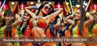 Latest Item Song of Malaika Arora Khan FASHION KHATAM MUJH PAR in Dolly Ki Doli 2015