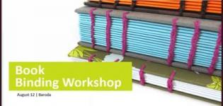 Learn the Whole Book Binding Procedure by attending Workshop at Vadodara