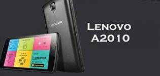 Lenovo A2010 Smartphone Launch in India - Price Features and Full Specification