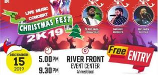 Live Music Concert CHRISTMAS FEST 2K19 in Ahmedabad at Riverfront Event Center