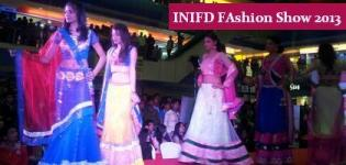 Live Photos of INIFD Fashion SHOW at CRYSTAL Mall Rajkot - Latest Images Cool Pics