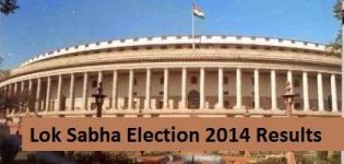 Lok Sabha Election 2014 Results India - State wise Name of Winning Candidates List