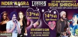 London Brick Presents Valentine Day Party 2016 with Singer Inder Nagra and Rishi Shridhar
