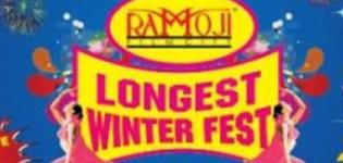 Longest Winter Fest 2015 in Hyderabad at Ramoji Film City from 18 December to 3 January 2015