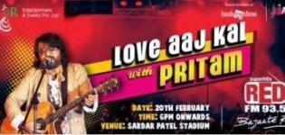 Love Aaj Kal with Pritam - Live In Concert in Ahmedabad Gujarat on 20 February 2015