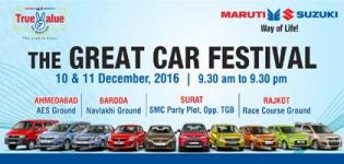 MARUTI SUZUKI The Great Car Festival 2016 in Ahmedabad | Baroda | Surat | Rajkot