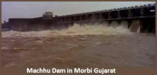 Machhu Dam in Morbi Gujarat - History - Details - Photos