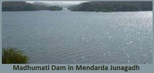 Madhumati Dam near Mendarda Junagadh Gujarat