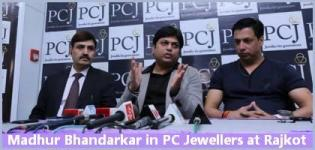 Madhur Bhandarkar in PC Jewellers at Rajkot