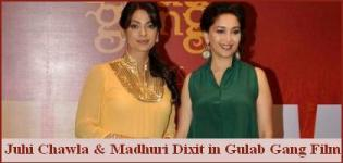 Madhuri Dixit and Juhi Chawla in Gulab Gang