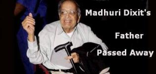 Madhuri Dixit's Father Passed Away this Morning