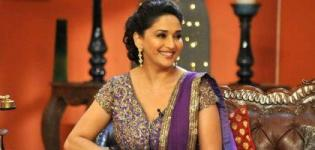 Madhuri Dixit in Comedy Nights With Kapil for Promotion of Dedh Ishqiya Hindi Movie