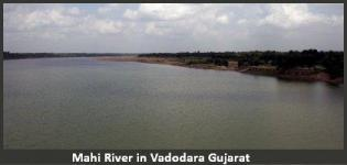 Mahi River in Vadodara Gujarat - History - Information - Photos