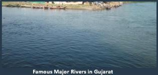 List of Main Famous Rivers in Gujarat - Major Important River Names of Gujarat State