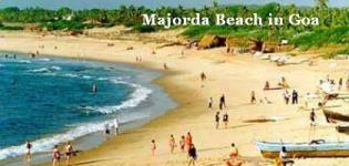Majorda Beach in South Goa India - Information - Attraction - Details - Photos