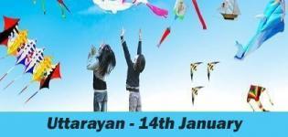 Makar Sankranti Festival 2016 - Uttarayan Festival in Gujarat 2016 Dates