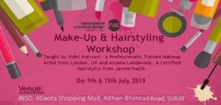 Make - Up and Hairstyling Workshop for all People by Professionals in Surat