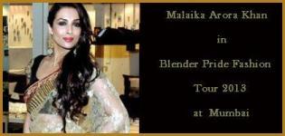 Malaika Arora Khan in Blender Pride Fashion Tour 2013 at Mumbai
