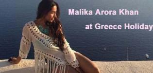 Malika Arora Khan in Swimsuit Pics - Hot Photos during Greece Holiday 2015