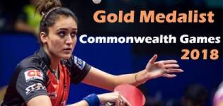 Manika Batra Wins Gold Medal for Table Tennis in Commonwealth Games 2018