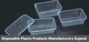 Disposable Plastic Products Items Manufacturers in Gujarat India